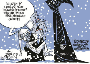 Political Cartoon is by David Fitzsimmons in the Arizona Daily Star.