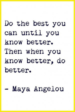 25 Famous Maya Angelou Quotes | Better Brain Chemistry | Scoop.it