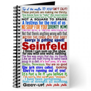Seinfeld Quotes Journal
