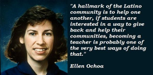 Ellen ochoa famous quotes 2