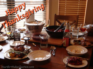 Happy-Thanksgiving-quotes-wishes-dinner-table