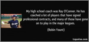 More Robin Yount Quotes