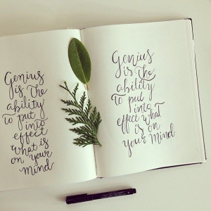 hand lettering quotes #maraboudesign