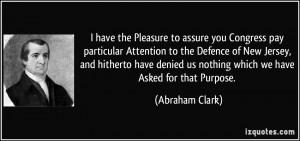 More Abraham Clark Quotes