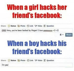 funny girls and guys on facebook