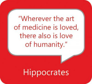 this quote to all of the physicians on the medical staff. We thank you ...