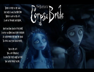 Corpse Bride Quotes Love Corpse bride: peaceful love by