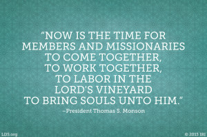 Members and Missionaries