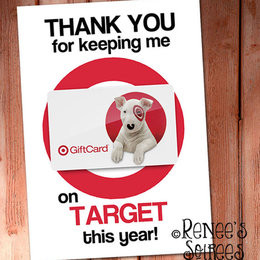 Printable GIFT CARD Holder - for Teacher, Coach, Coworker, Mentor ...