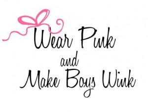 wear pink & make boys wink! love this!