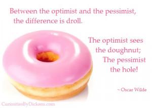 The doughnut or the hole…