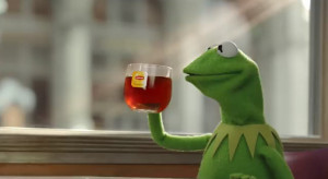 Check out how Kermit spreads the word about Lipton's new global ...
