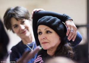 All girls: Harriet Walter and Frances Barber in rehearsals for Julius ...