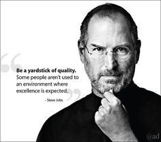 Steve Jobs quote. #vision #excellence www.rsfsecurity.com Rancho Santa ...