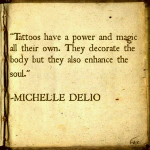 Tattoos & the soul