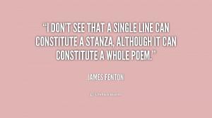 James Fenton Quotes