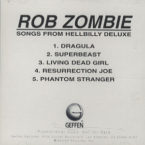 Details about WHITE ROB ZOMBIE HELLBILLY DELUXE ACETATE CD U PICK 2ND ...