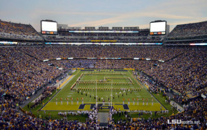 ... did you realize LSU was 2nd in SEC 2014 average football attendance