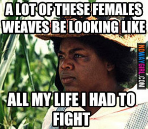 This isn't exactly a natural hair meme per say but i just feel like ...