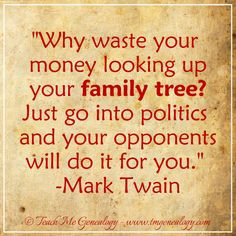 Funny Quotes About Family History ~ Family Tree Quotes on Pinterest