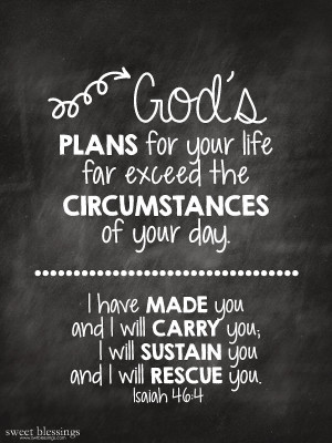 Bible Quote God Has a Plan for You
