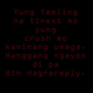 texting your crush.fw 300x300 Crush Quotes Patama Quotes | Tagalog ...