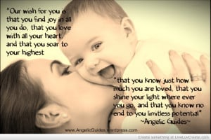 Angelic Guides Quotes Mothers Day