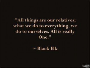 Black Elk quote