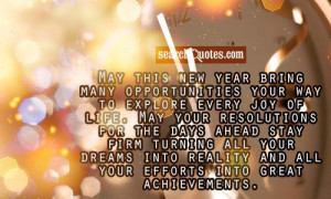 May This New Year Bring Many Opportunities Your Way To Explose Every ...