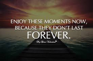 enjoy moments live in the now picture quotes
