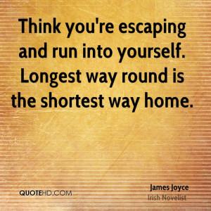 James Joyce Home Quotes