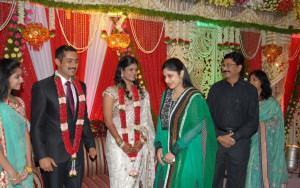 Picture Uday Kiran Vishita Wedding Reception Stills New