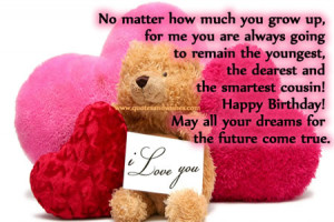 Happy Birthday Quotes for Cousin Sister