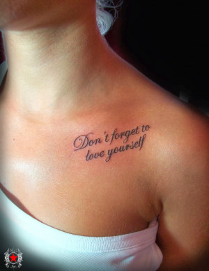 girl quote tattoos Life Tattoo Quotes StickyWallpapers awesome