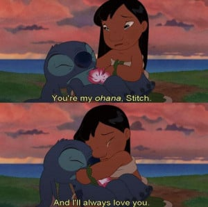 ... both lilo and stitch realised how important it is to have a friend