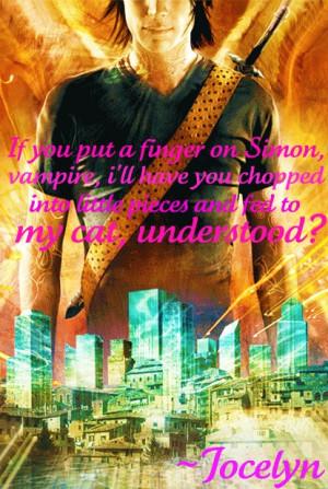 The Mortal Instruments Quote - mortal instrument quotes Fan Art ...
