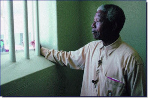 The father of modern South Africa. Nelson Mandela. A great man. Not ...