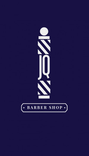 Logo design created for a client's Barber Shop, he wanted to have a ...