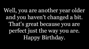 Another Year Older Quote