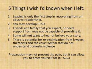 Five Things I Wish I Had Known When I Left