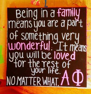 ... Phi | Family canvas. #sororitycrafts #greeklife #sorority #biglittle