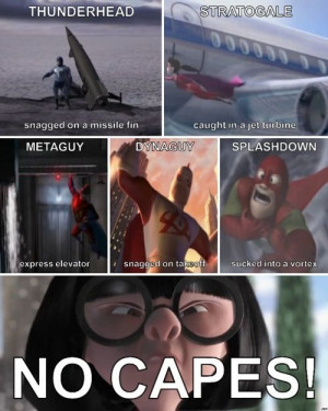 Incredibles- movie quote
