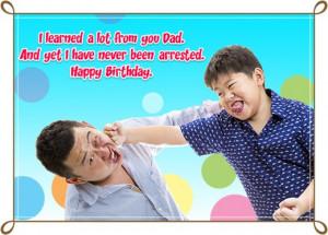 ... funny card birthday inside happy birthday dad from happy birthday dad