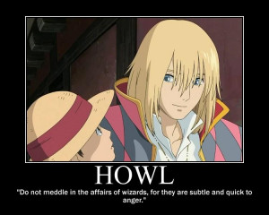 Howls Moving Castle Quote