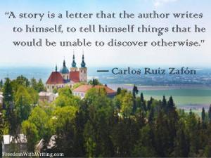 Carlos Ruiz Zafon quote