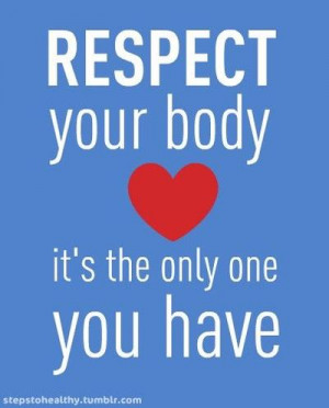 Respect Your Body Quotes