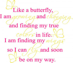 butterfly quotes for kids