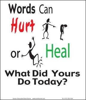 ... persuasive speech and not mean it, actions speak louder than words