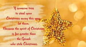Christmas spirit poem