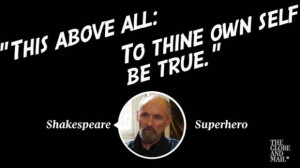 Can Colm Feore distinguish between Shakespeare vs. superhero quotes ...